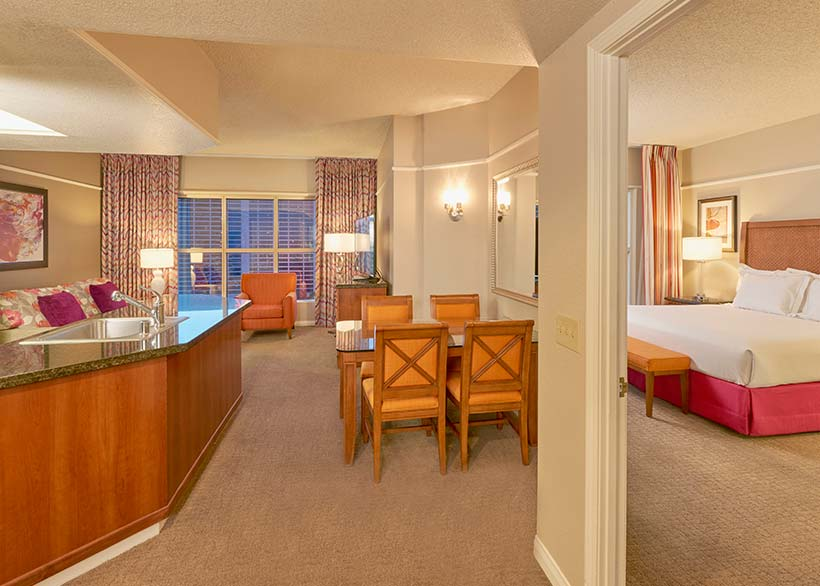 Hilton Grand Vacations At The Flamingo Hotel In Las Vegas